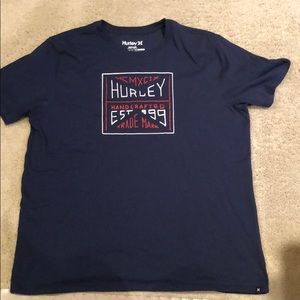 Hurley Navy T Shirt Extra Large Like New